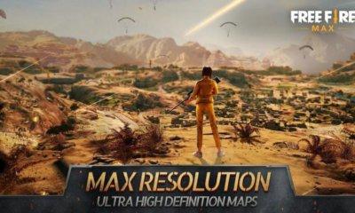 Free Fire max terá gráficos melhores