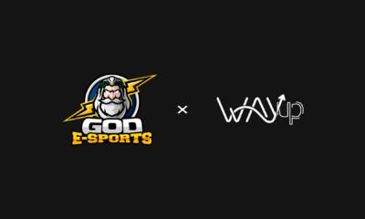 Wayup anuncia parceria com a GOD Esports