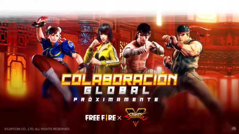 Street Fighter Free Fire