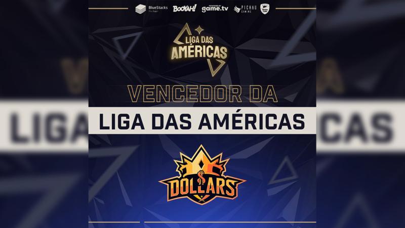 DOLLARS campeã da Liga das Américas