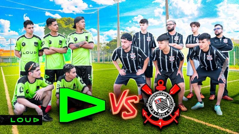 LOUD Corinthians futebol